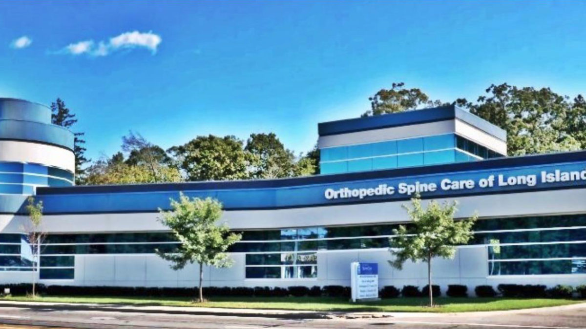 An image of the Orthopedic Spine Care of Long Island office.