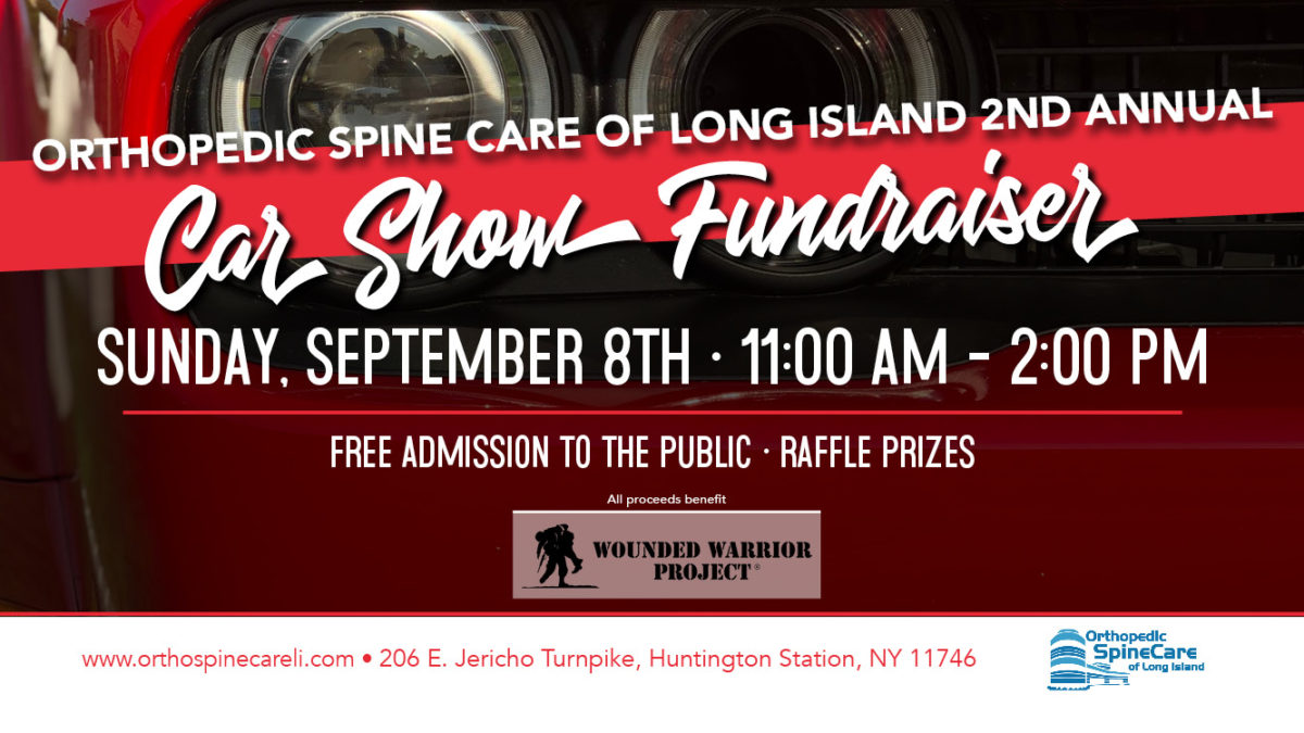 Orthopedic Spine Care of Long Island's 2nd Annual Car Show Fundraiser was held on September 8th, 2019.